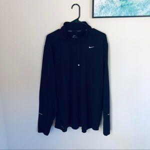 Nike Dri Fit Half Zip Long Sleeve XXL